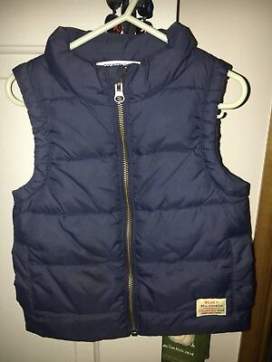 Boys Country Road Puffer Vest