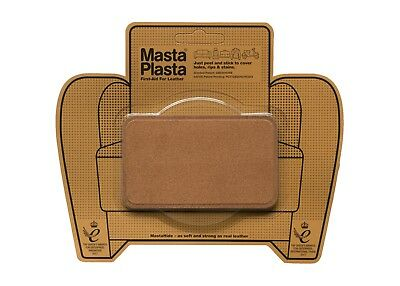 SUEDE MastaPlasta Self-Adhesive Repair Patch10cmx6cm. Fix holes, rips, burns