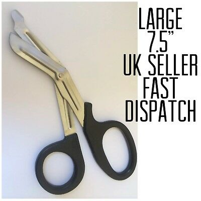 P9 Large Utility BANDAGE SCISSORS First Aid Medical EMT Vet Student Medic Shears