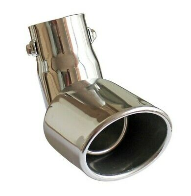 Diesel Ø32-50mm Stainless Steel Extension for VW Passat B5 Exhaust Tip Tail Pipe