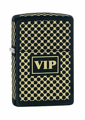 Zippo VIP Windproof Pocket Lighter - Black Matte
