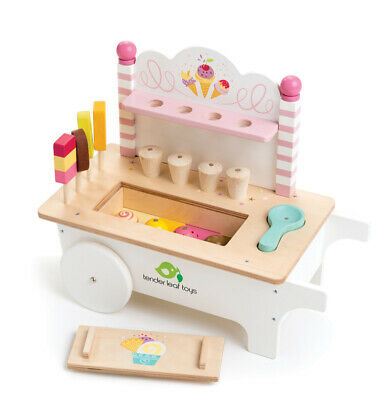 Tender Leaf - Ice Cream Cart Educational Wooden Toy