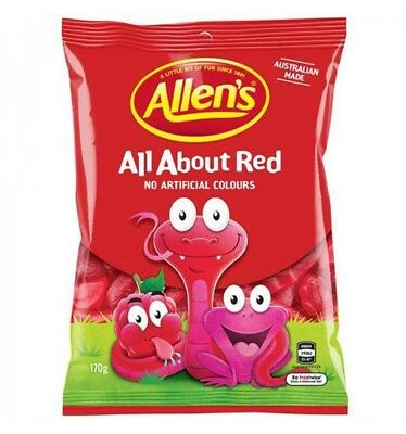 Allens All About Red 170gm x 12