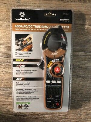 Southwire 400A AC/DC True RMS Clamp Meter (Model 21050T) *Brand New*