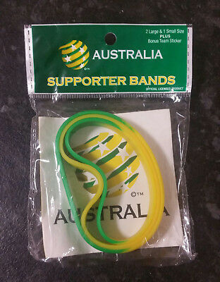 Australia • Socceroos • Supporter Bands • Fifa World Cup 2018 • Brand New