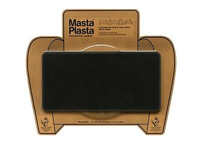 SUEDE MastaPlasta Self-Adhesive Instant Repair Patch LARGE 20x10cm