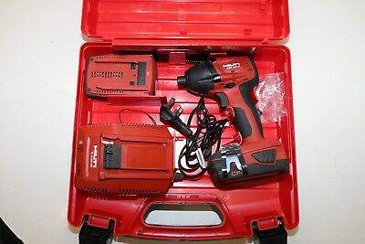 Hilti SID 22-A Cordless Impact driver + Batteries and Charger - Hardly used