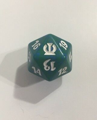 Green Eldritch Moon Magic the Gathering d20 Spindown Life Counter Die