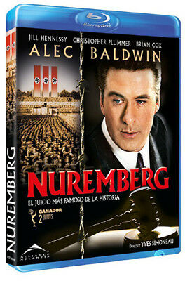 Nuremberg NEW Arthouse Blu-Ray Disc Y. Simoneau Alec Baldwin Christopher Plummer
