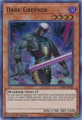 Dark Grepher (DASA-EN042) - Super Rare - 1st Edition