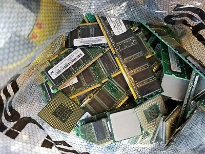 NO REASONABLE OFFER REFUSED -  3 lb CPU and RAM for gold recovery scrap