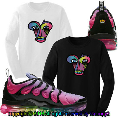d26b026fab7d3 CUSTOM T SHIRT matching NIKE AIR VAPORMAX PLUS BETRUE AVP 1-40-7-L