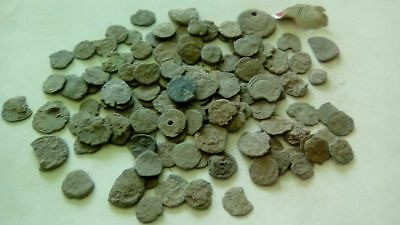 Lot Of 120 Ancient Bronze Roman Coins Bad Quality Uncleaned