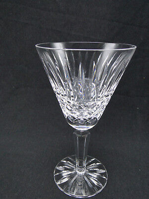 Waterford Maeve 6 1/2in Claret Red Wine Glasses Clear Cut Crystal