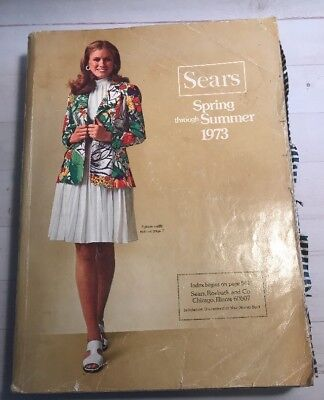 Vintage SEARS Spring And Summer 1973 Catalog 1459 pages vintage fashion