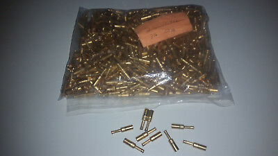 Electronic Scrap Gold, SMB connectors GOLD PLATED OVER 3 LBS!!!