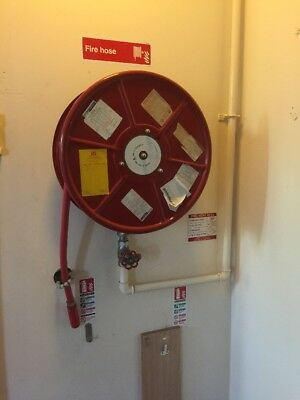 Fixed Fire Hose Reel With Fixing Bracket Can Deliver