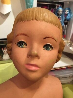Vintage Child Mannequin Girl 50s