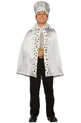 Storybook Fairy Tail Child Royal Cape (Silver)