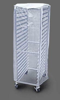 New Star Foodservice 36565 Commercial Sheet Pan Rack Cover, PVC, 20-Tier, 28 x