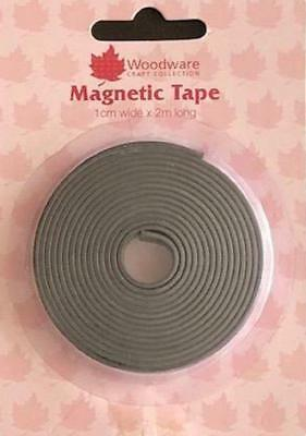 Woodware Self Adhesive Magnetic Craft Tape 1cm x 2metre - WW2875