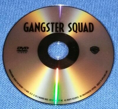 Gangster Squad DVD Movie *Disc Only*