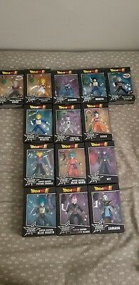 dragon ball super dragon stars action figures compete series 1-4
