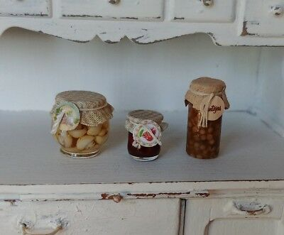 Dollhouse Ulus Artisan Crafted Bottle and Can Opener Miniatures for Doll House