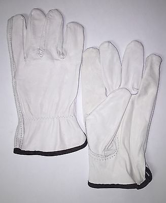 **12 PAIR** LARGE Condor Goatskin Leather Work/Drivers Gloves