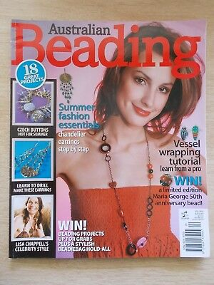 Australian Beading Vol 1 #4~Jewellery~Drilling~Wire-Wrapping~Rosary~Dichroic