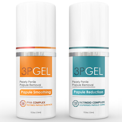 Pearly Penile Papules Removal Cream - 3PGel.  3P Gel Proven to smooth papules.
