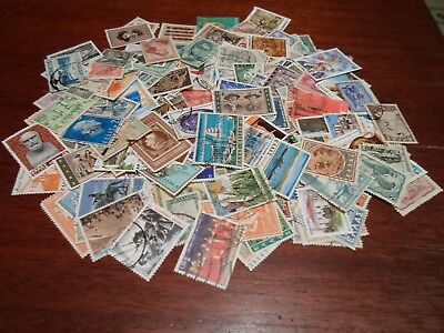 Collection lot 200 different stamps from Greece