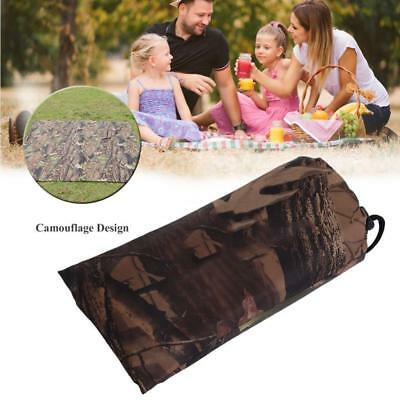 Camo Sheet Canopy Sunshade Cover Camping Shelter Hiking Tarp Tents WATERPROOF