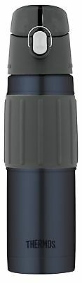Thermos Vacuum Insulated 18 Ounce Stainless Steel Hydration Bottle, Midnight ...