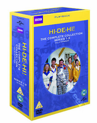 Hi-De-Hi! - Complete Collection (Series 1-9) NEW PAL Classic 13-DVD Set