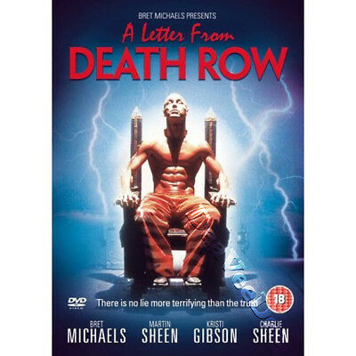 A Letter from Death Row NEW PAL Cult DVD Bret Michaels