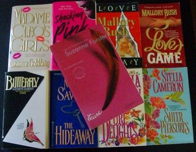 lot 9 romance pb erotic suspense Stella Cameron Suzanne Forster Erica Spindler