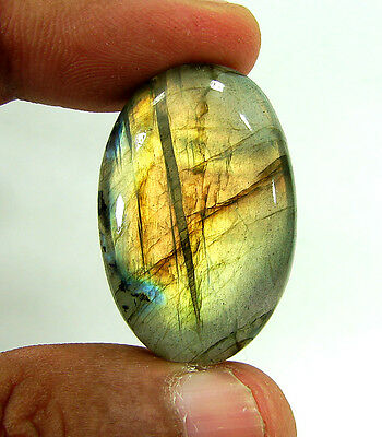50.00 Ct Beautiful Natural Cabochon Labradorite Loose Gemstone Stone - 10061