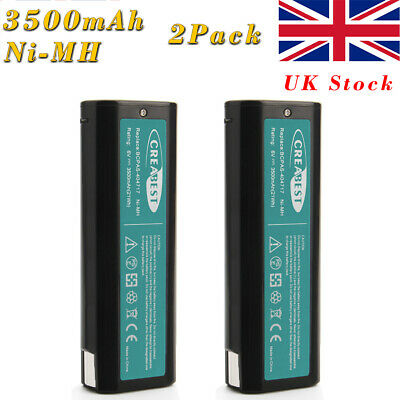 2x 6V 3.5AH Ni-MH Battery for Paslode Nailers 404717 IM350 IM250 IM65 900420