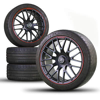 AMG Mercedes C63 S 19 inch alloy wheels rim tires for summer Edition A2054011700