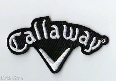 Iron on patch Callaway Golf Sports Champion Cap size