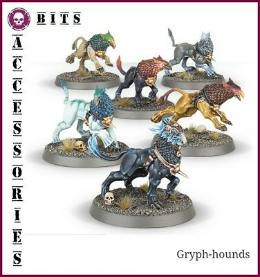 Bits Warhammer Age Of Sigmar Stormcast Eternals Gryph Hounds