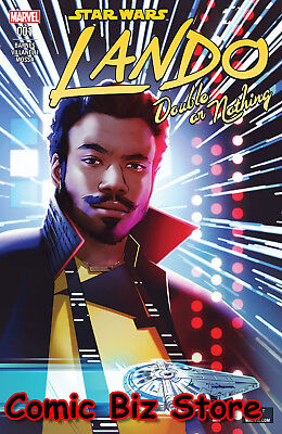 Star Wars Lando Double Or Nothing #1 (Of 5) (2018) 1St Printing Main Cover