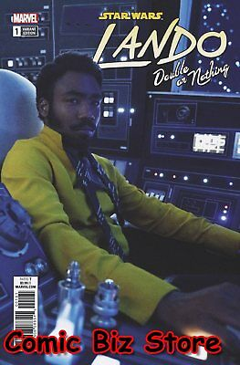 Star Wars Lando Double Or Nothing #1 (Of 5) (2018) Scarce 1:10 Moive Variant B