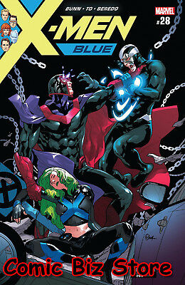 X-Men Blue #28 (2018) 1St Printng Bagged & Boarded Marvel Legacy Tie-In