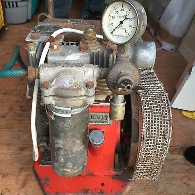 kismet vintage antique? air compressor old collectable working