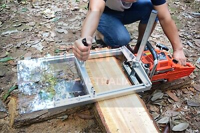 """Chainsaw Mill Suits up to 20"""" Bar Wood Cutting Whipper Woodwork Carpentry"""