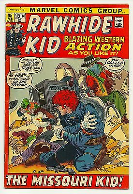Rawhide Kid (1955 series) Feburary #96 Excellent