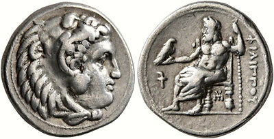 Silver drachm of Philip III Arrhidaios (323-317 BC). LOW STARTING PRICE!