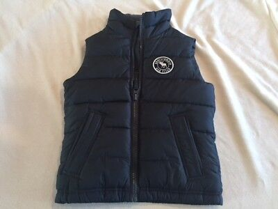 Abercrombie Kids Boys Puffer Vest, Size Small, New